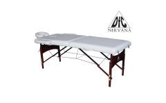 Массажный стол Dfc Nirvana, Relax, дерев. коричн.ножки, цвет бежевый (Beige)