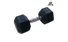 Гантели DFC гексагональные обрезиненные 15 кг/ (пара) DB001-15