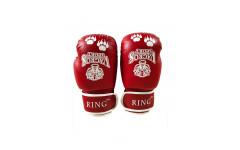 Перчатки боксерские VagroSport RING RS908, 8 унций, красный